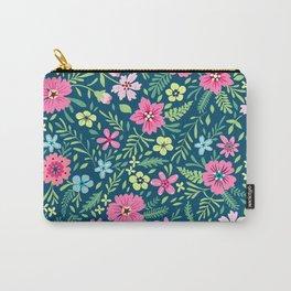Floral pattern. Pink flowers. Spring pattern. Tasche