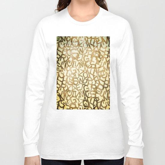 Din pattern Long Sleeve T-shirt