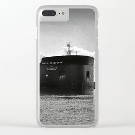 Paul R Tregurtha With Stats Clear iPhone Case