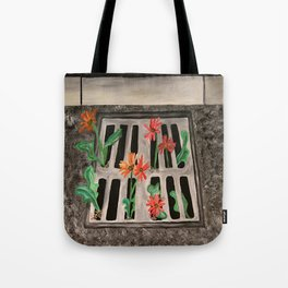 Finding beauty in an unexpected place Tote Bag