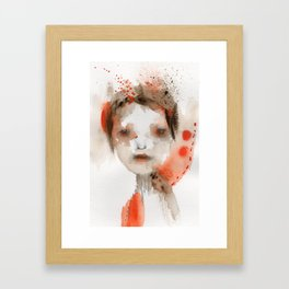 Explode Framed Art Print