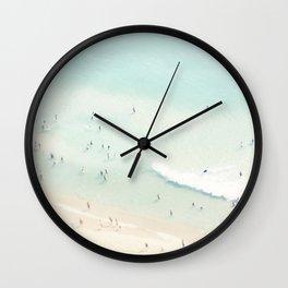 beach summer fun Wall Clock