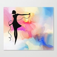 game Canvas Prints featuring game  by tatiana-teni