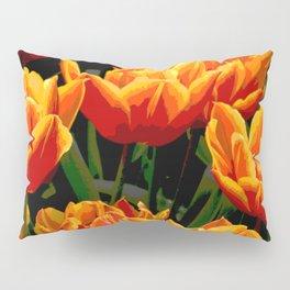 Orange tulips II Pillow Sham