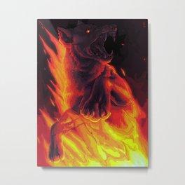 the devil says Metal Print