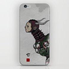 worm iPhone & iPod Skin