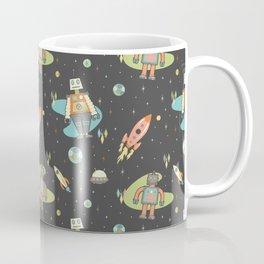 Robots in Space Coffee Mug