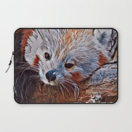 Impressive Animal - red Panda 3 Laptop Sleeve