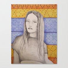 braided  Canvas Print