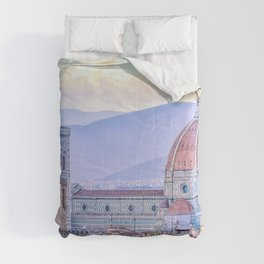 Cathedral of Santa Maria del Fiore  Florence Italy Comforters