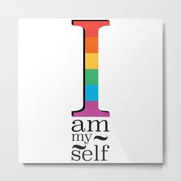I am myself Metal Print