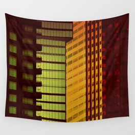 It's all Shapes and Colors - Downtown Los Angeles #68 Wall Tapestry
