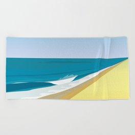 Rothko at the Beach Beach Towel