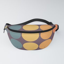 Classic Colorful Freehand Retro Dots Fanny Pack