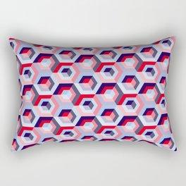 Pattern graphic cubes Rectangular Pillow