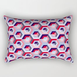 Pattern graphic cubes Rectangular Pillow