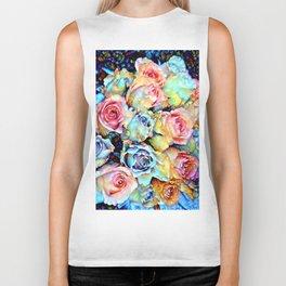 For Love of Roses Biker Tank