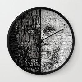 Ragnar Lothbrok Wall Clock