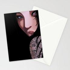 Black Geisha Stationery Cards