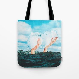 Thief of clouds Tote Bag