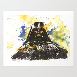 Darth Vader Star Wars Art Art Print