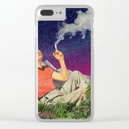 Relaxing Time Clear iPhone Case