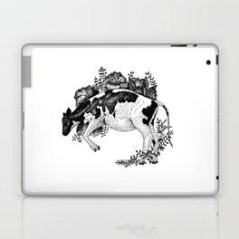 Cow - Go Vegan Laptop & iPad Skin