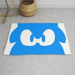 Sonic Blue Hedgehog Rug