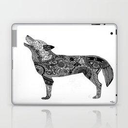 Henna-Inspired Wolf Laptop & iPad Skin