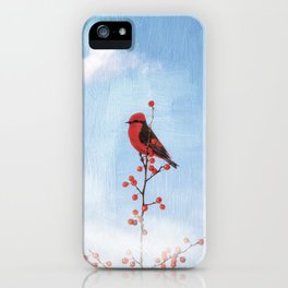 Holly Berry Heaven iPhone Case