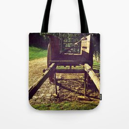 Country Wheels Tote Bag