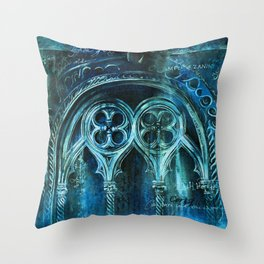The City Sinks Throw Pillow