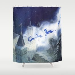 December's Tale Shower Curtain