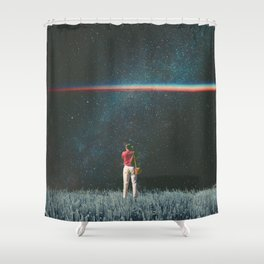 Saw The Light Shower Curtain