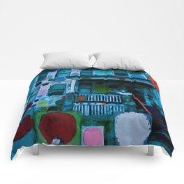 Detroit Heidelberg Project Comforters