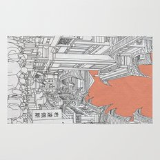 Street in China Rug