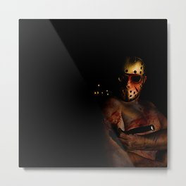 he's a mummy's boy really Metal Print