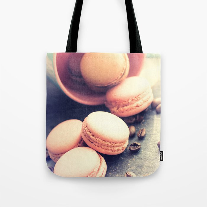 Sweet Cake with coffee beans Tote Bag