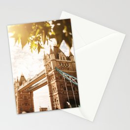 tower bridge in london Stationery Cards