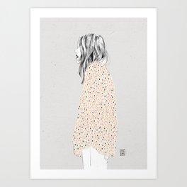 Coat Art Print
