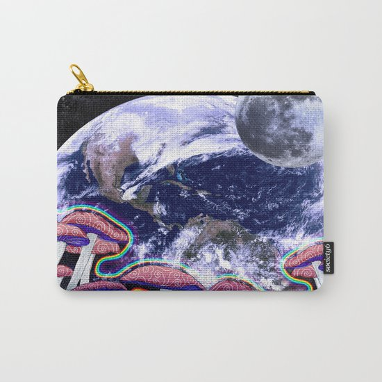 Space Mushroom Carry-All Pouch