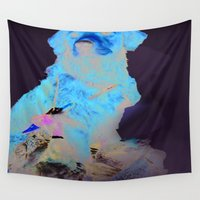 hunting Wall Tapestries featuring Duck Hunting Retriever by The Greedy Fox