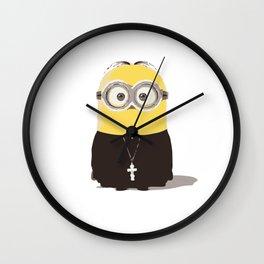 Father Minion Wall Clock