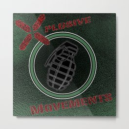DMolition Xplosive Movements Metal Print
