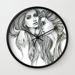 Gemini Mind Wall Clock