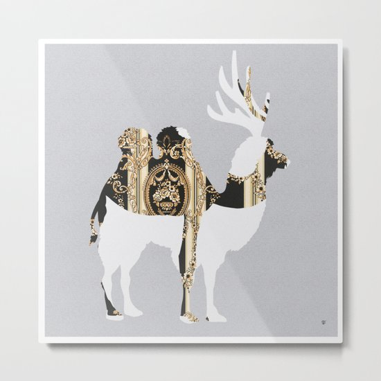 FabCreature · LaCaDeema Metal Print