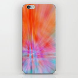 Abstract Big Bangs 002 iPhone Skin