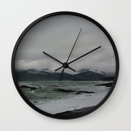 kaikoura shore II Wall Clock