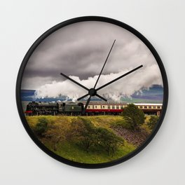 Royal Scot at Ribblehead Wall Clock
