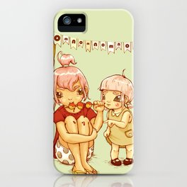 omnomnom iPhone Case